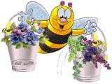 Логотип Добрая пчелка